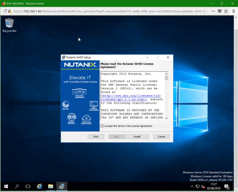 domalab.com Nutanix Windows AHV nutanix Guest Tools