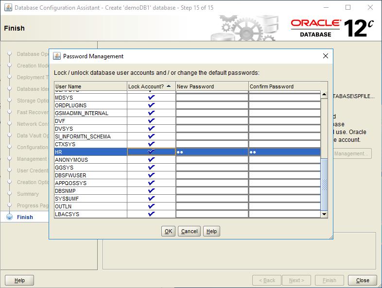 domalab.com create oracle database password management