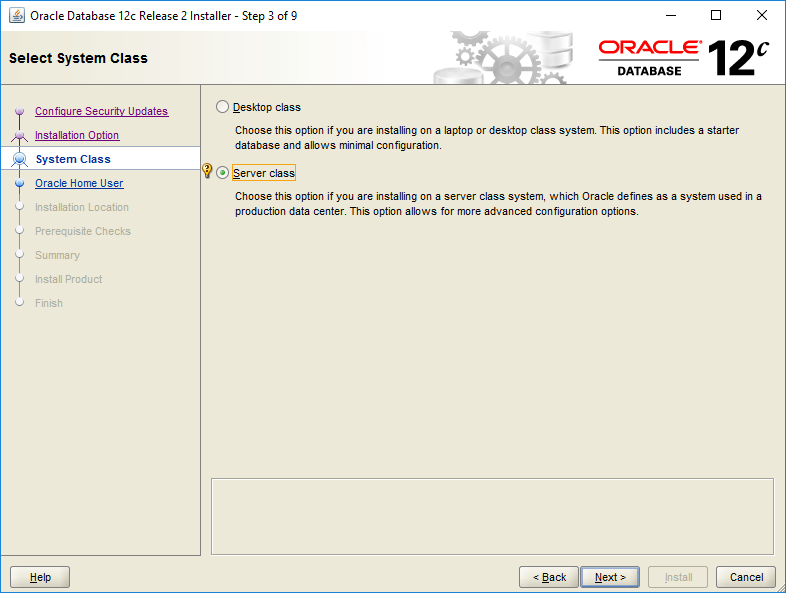 domalab.com Install Oracle system class