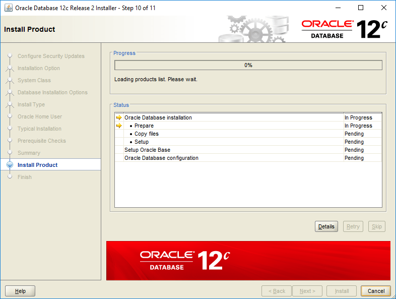domalab.com Install Oracle install product