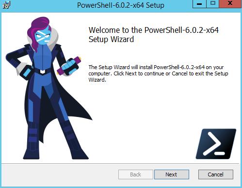 domalab.com Install PowerShell Core wizard