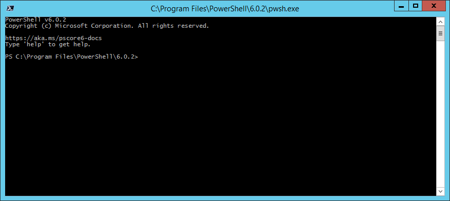 domalab.com Install PowerShell Core pwsh.exe console
