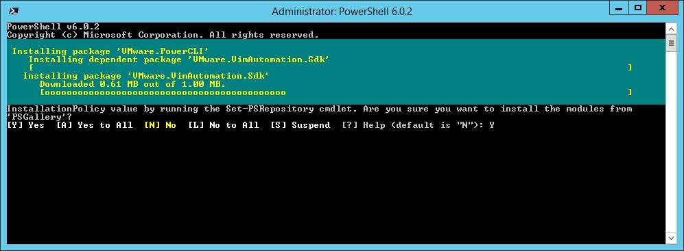 domalab.com Install VMware PowerCLI download modules