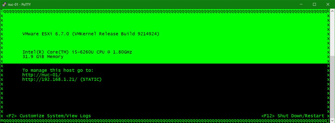 domalab.com Synology DNS vSphere dcui
