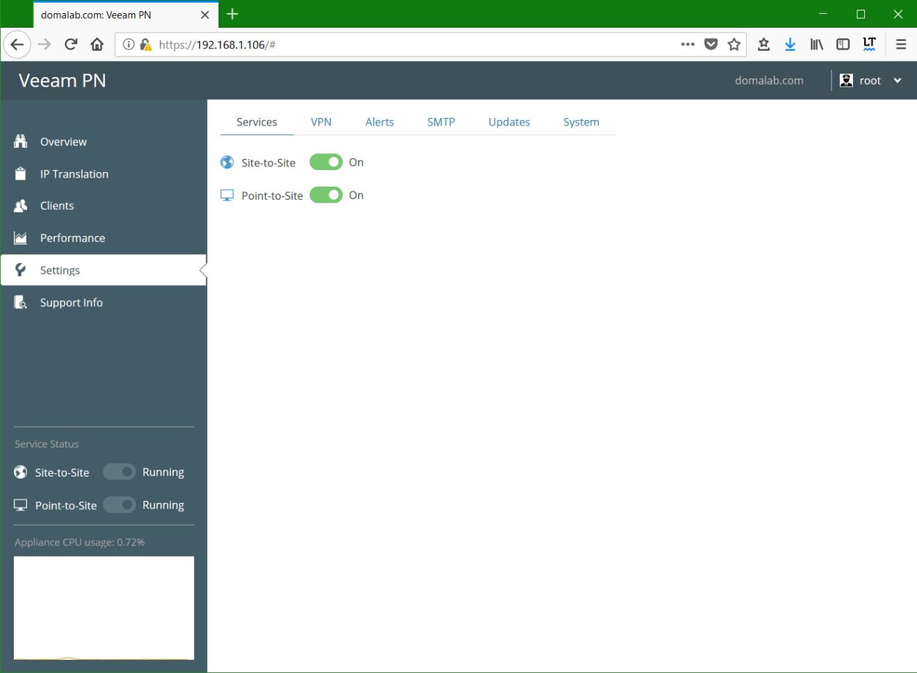 domalab.com Veeam PN services