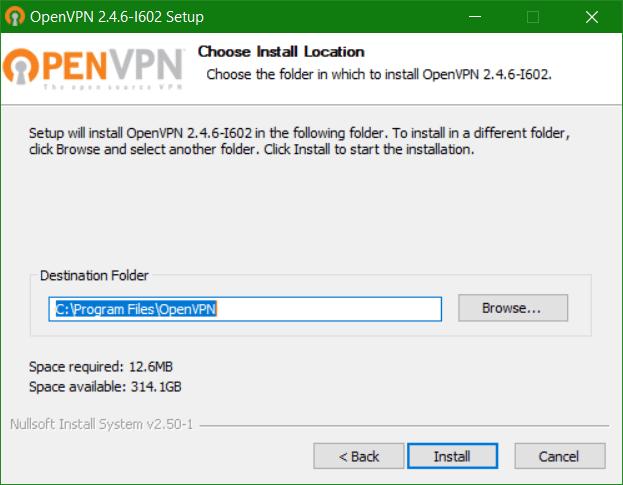 domalab.com Veeam PN Client OpenVPN install folder