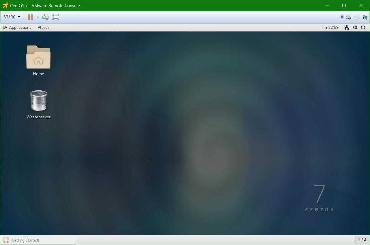 domalab.com Linux CentOS 7 install desktop