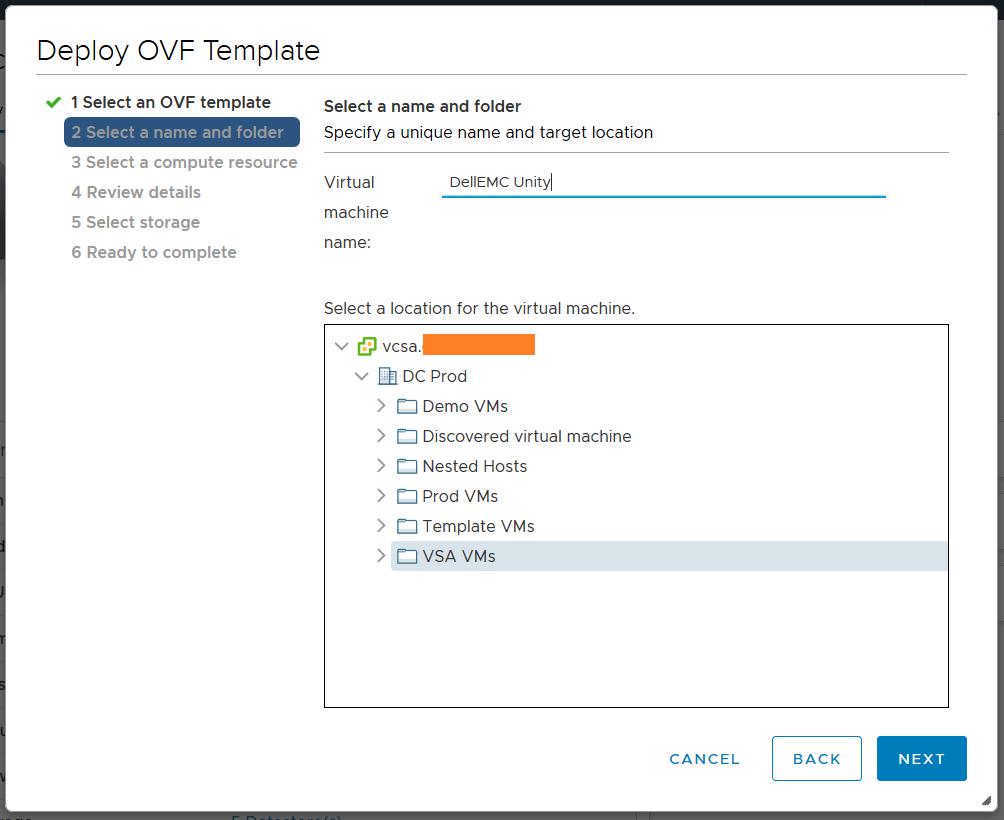 domalab.com Dell EMC Unity VSA deploy ovf template