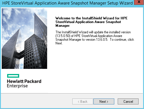 domalab.com HPE Application Snapshot Manager install wizard