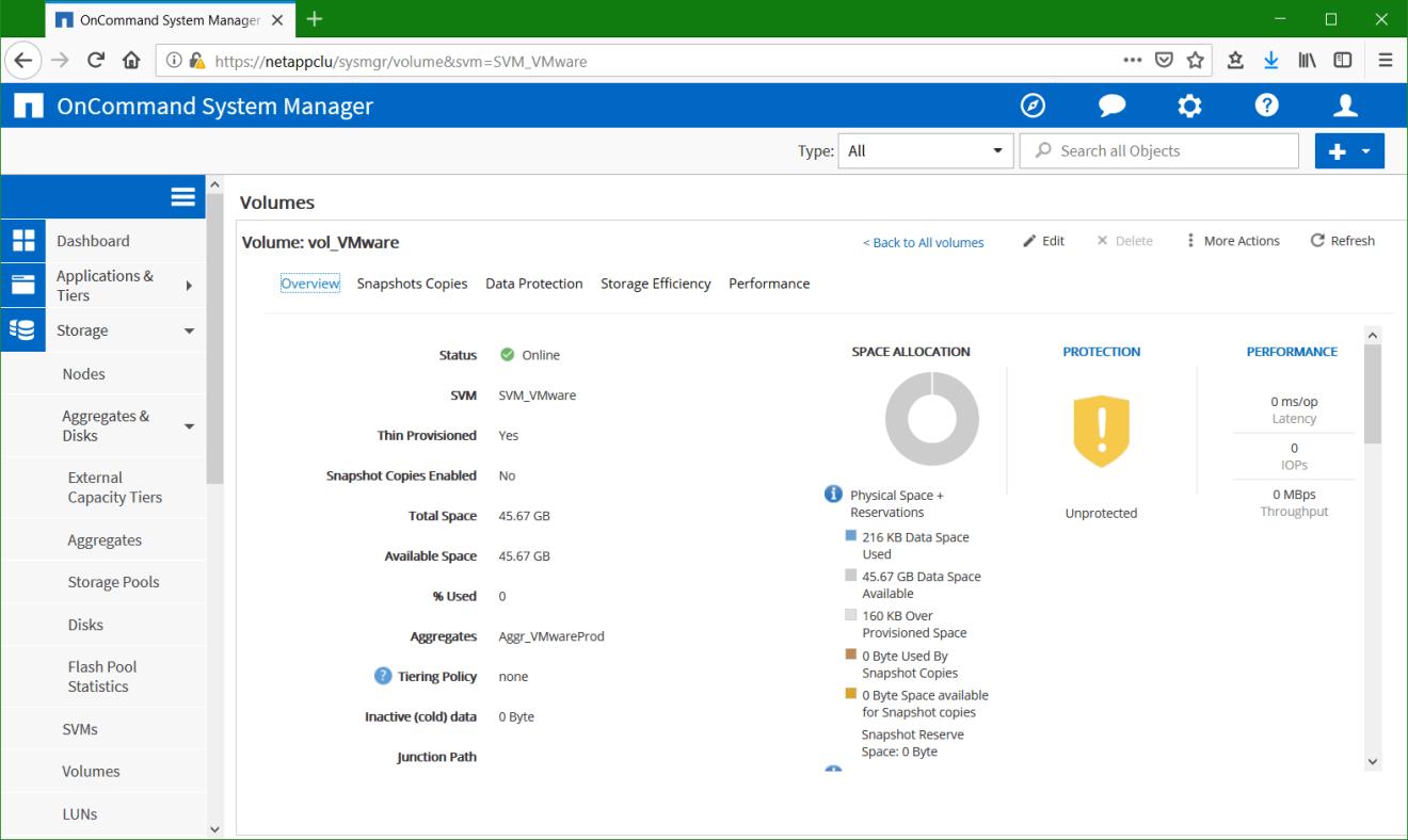 domalab.com Configure NetApp ONTAP volume settings