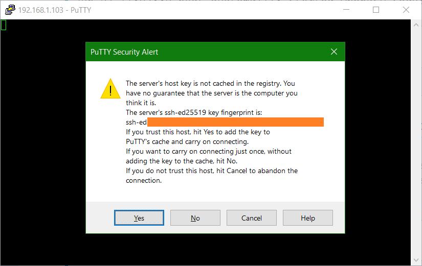 domalab.com Install OpenSSH Ubuntu Server putty certificate