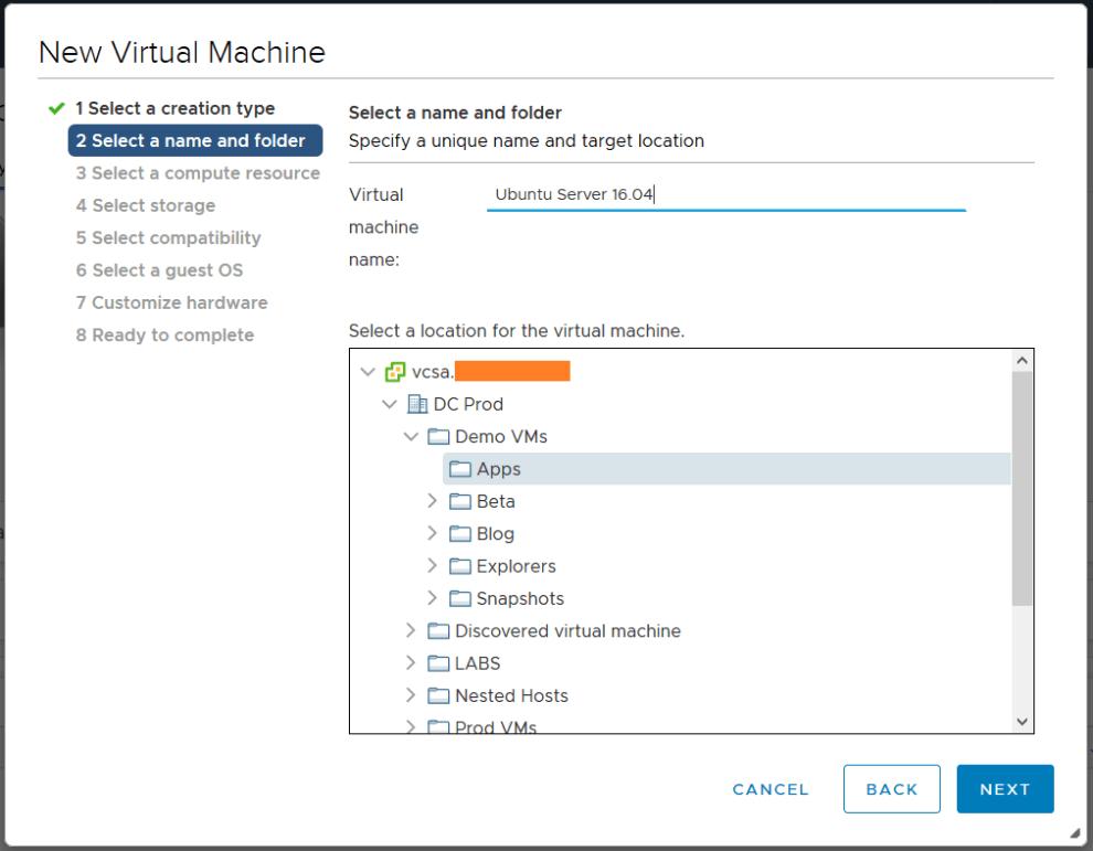 Deploy Ubuntu Server 16 04 5 LTS on VMware » domalab