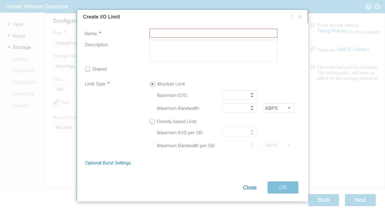domalab.com Dell EMC Unity storage datastore IOPS