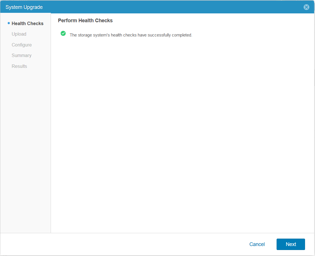domalab.com Upgrade Dell EMC Unity health check completed