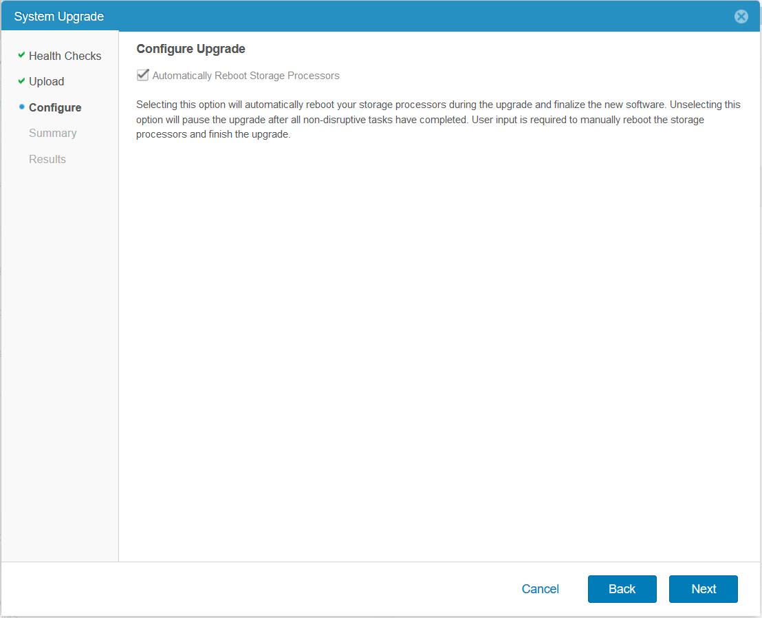 domalab.com Upgrade Dell EMC Unity configure upgrade