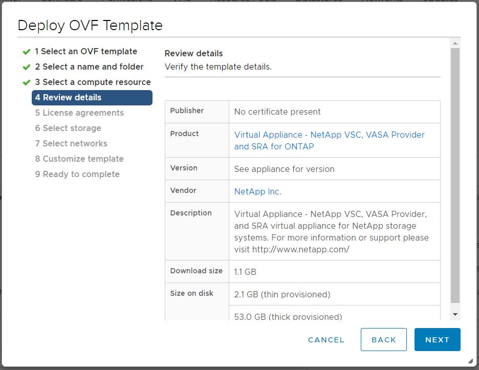 domalab.com Deploy NetApp VSC review details