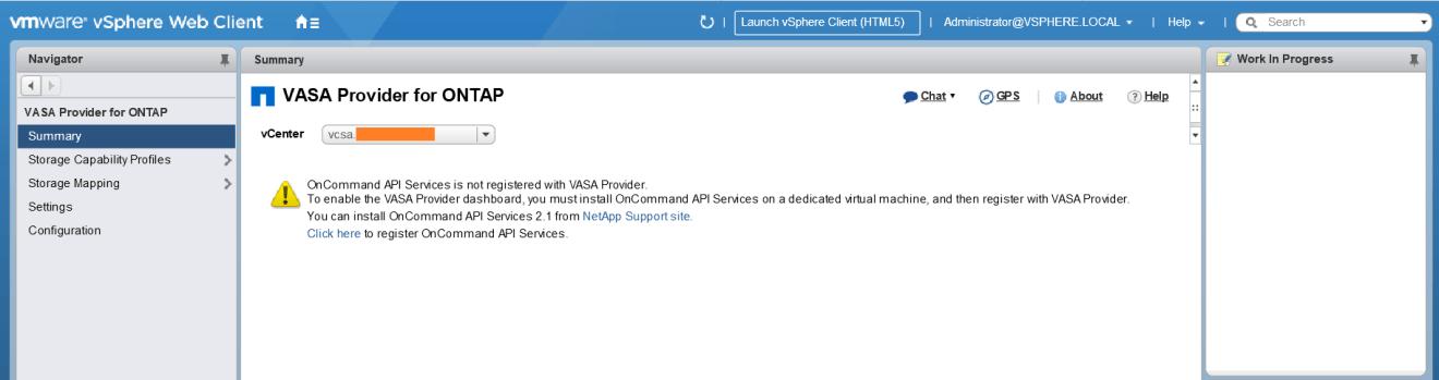 domalab.com Install NetApp VSC VASA provider config