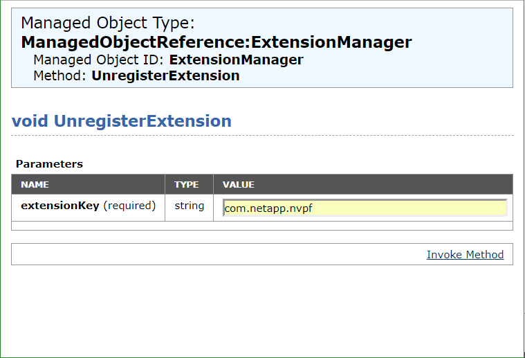 domalab.com uninstall NetApp VSC unregister extension name