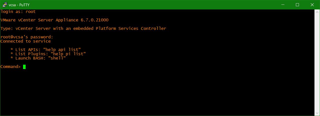 domalab.com uninstall NetApp VSC VCSA ssh login