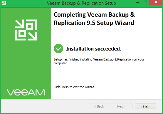 domalab.com Veeam Update 4 install completed