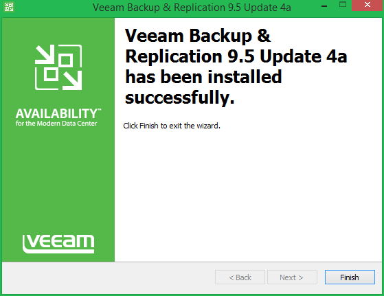 domalab.com Veeam Backup 9.5 U4a