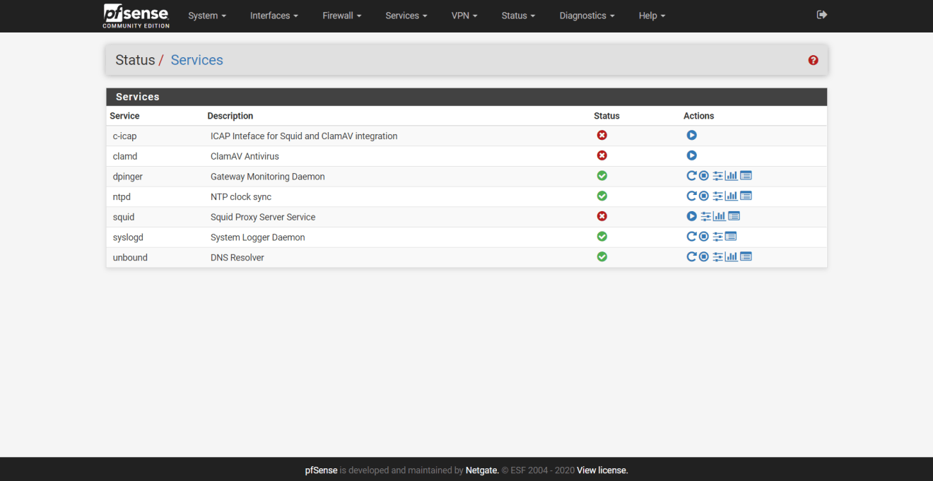 domalab.com pfSense SQUID setup VMware