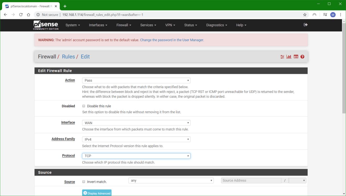domalab.com configure pfSense open vm tools VMware