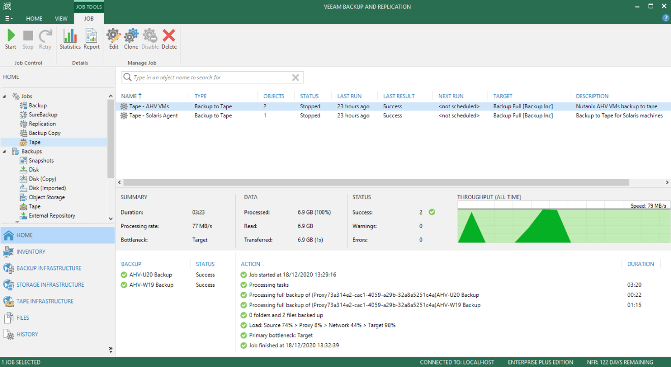 domalab.com Veeam Tape Backup QUADStor CentOS