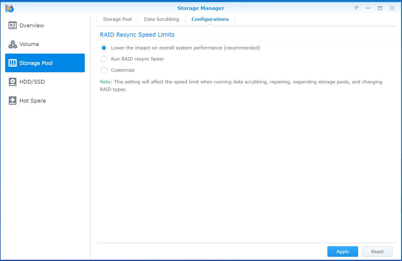 domalab.com Synology disk fail