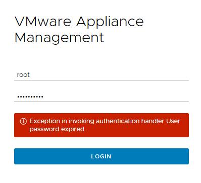 domalab.com VMware VCSA root password