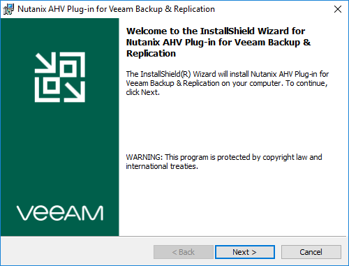domalab.com Veeam Backup Nutanix install