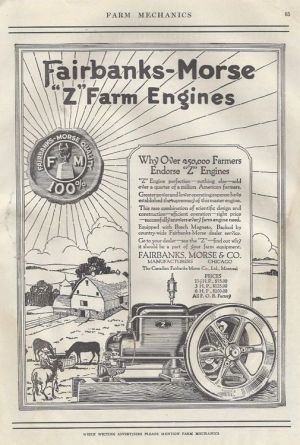 Fairbanks Morse 'Z' Hit and Miss | The Tractor Guys Time Line