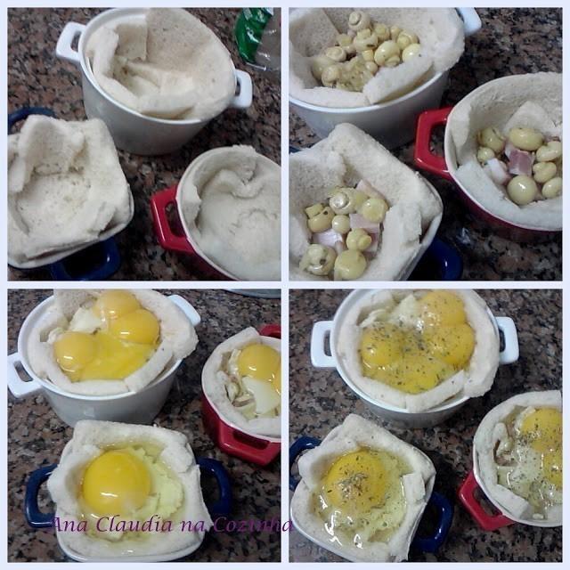 cocotte de ovos