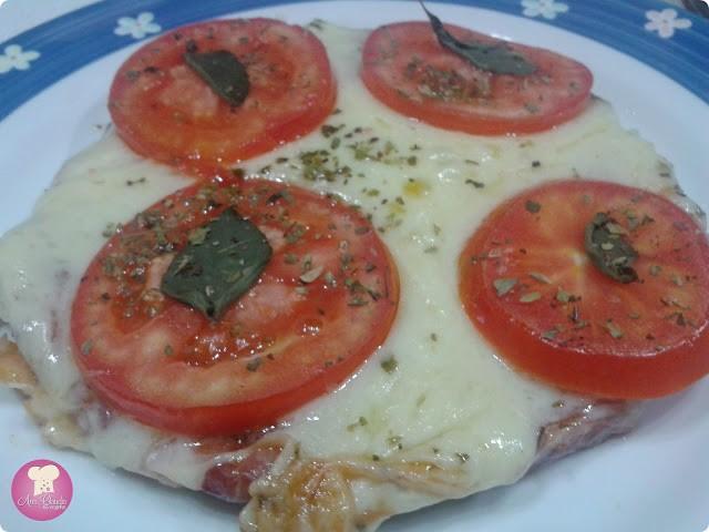 Pizza de Massa de Linguiça