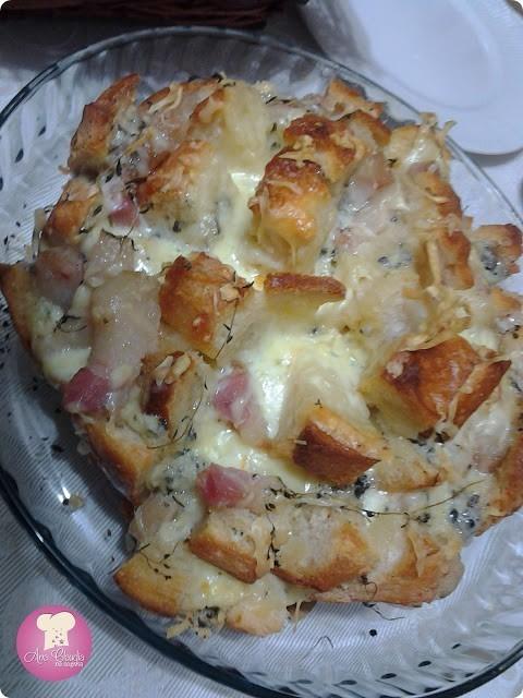 pão italiano recheado
