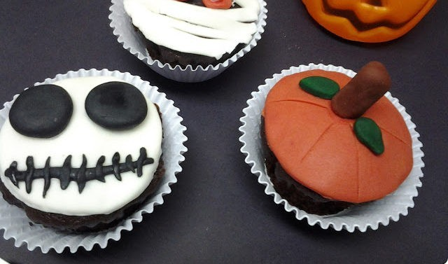 Cupcakes fantasmagóricos