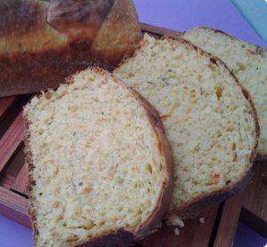 pão temperado