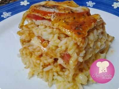 arroz  parmegiana