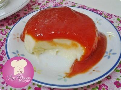 mousse de queijo e goiabada