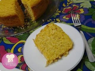 bolo de reaproveitamento de milho