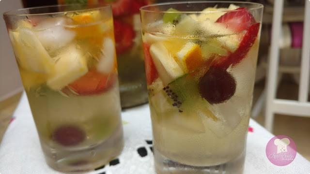 clericot bebida a base de vinho e frutas