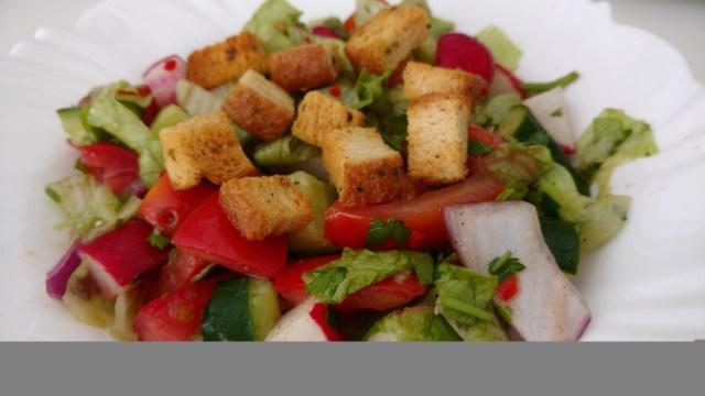 salada arabe fatouche