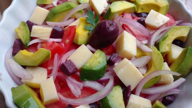 salada colorida