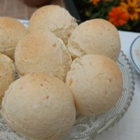 Pão de queijo 3 ingredientes - Super fácil