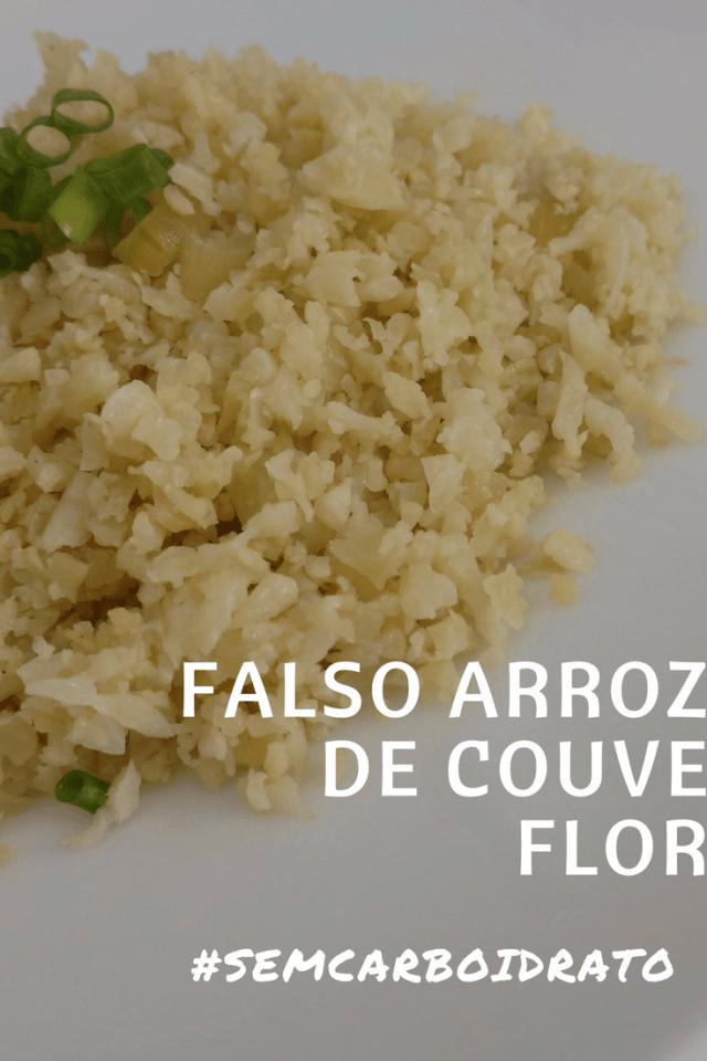 arroz falso de couve flor