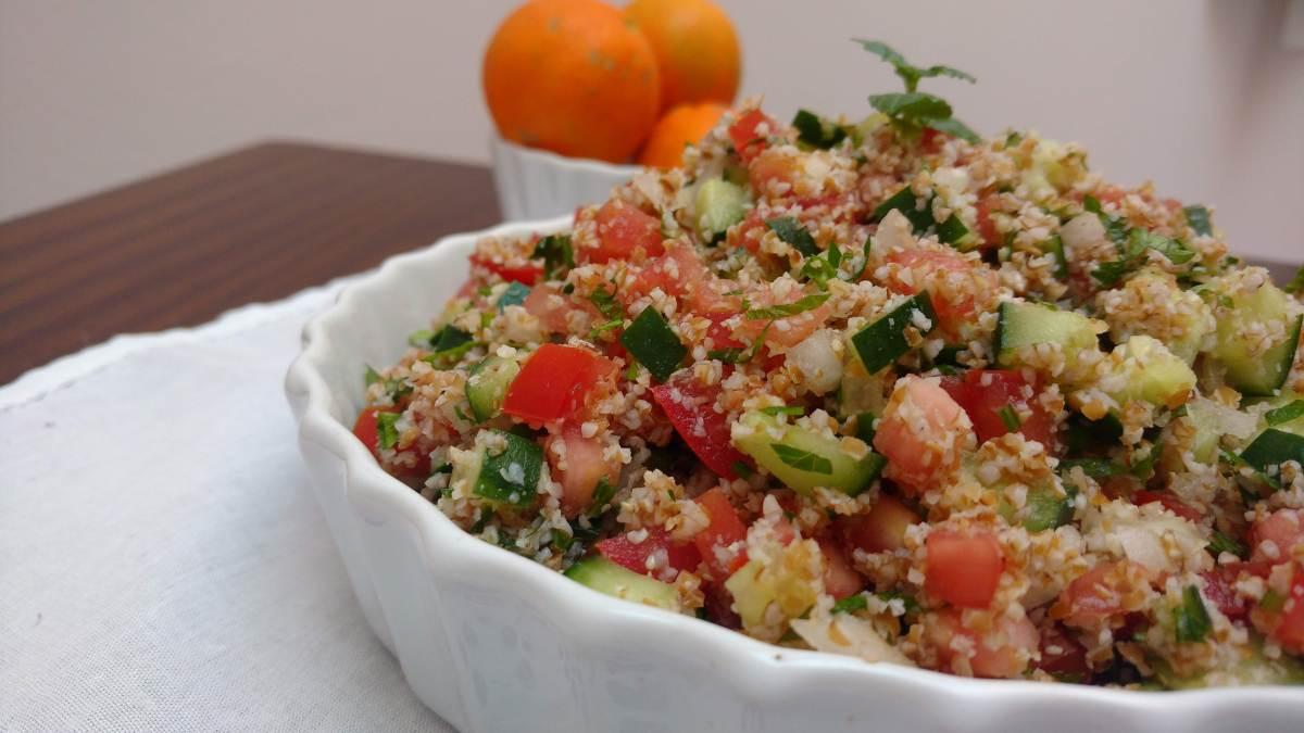 Tabule (salada de trigo para quibe)