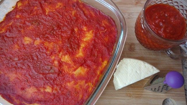nhocão de forno fácil e recheado de presunto e queijo