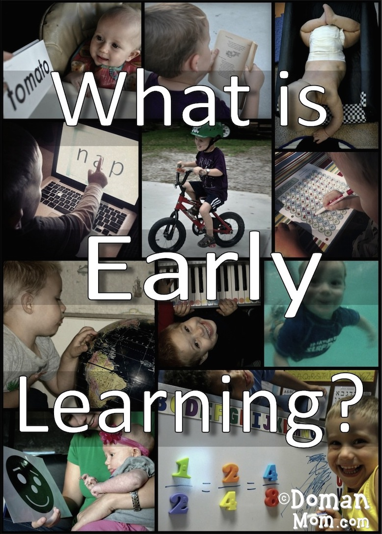 What is Early Learning Early Teaching Doman Method Glenn Doman