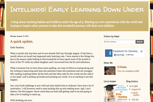Glenn Doman Blogs Early Teaching Learning Education