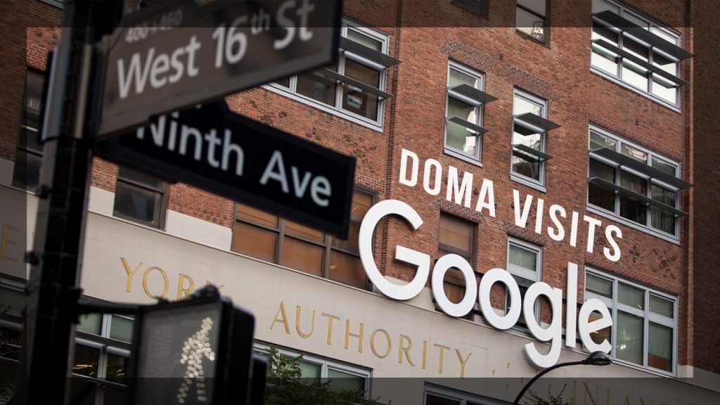 DOMA Visits Google NYC